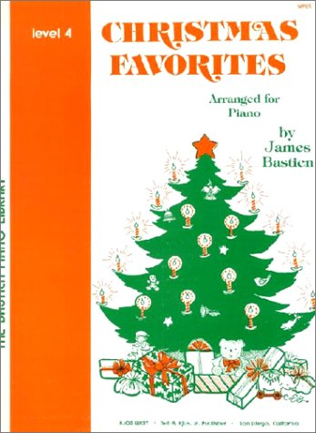 Christmas Favorites 4 - Piano - Book