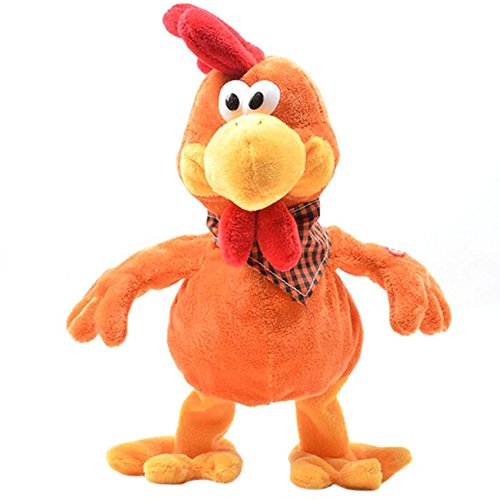 Prizemall Electric Cuckoo chicken Toy Doll Singing, Dancing, Stuffed Plush Chicken Kid's Chrismtas Gift (Chicken Dance Toy compare prices)