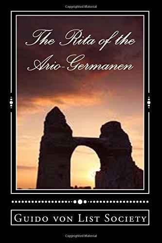 The Rita of the Ario-Germanen: GermanenOrden Series Volume 2