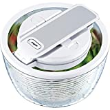 Zyliss Smart Touch E15620 Centrifuga insalata diametro: 26 cm, colore: Bianco
