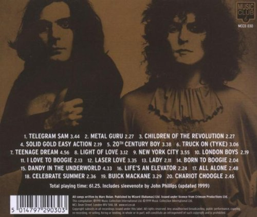 T-Rex - VERY BEST OF T. REX, VOL. 1 - Amazon.com Music