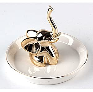 Baby Elephant Ring Holder