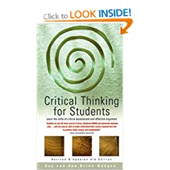 Image: Cover of Critical Thinking for Students: Learn the Skills of Critical Assessment and Effective Argument