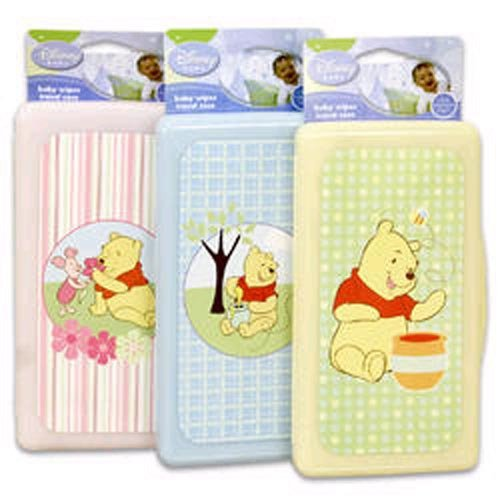Winnie The Pooh Baby Wipes Travel Case - 2 Pack - 1