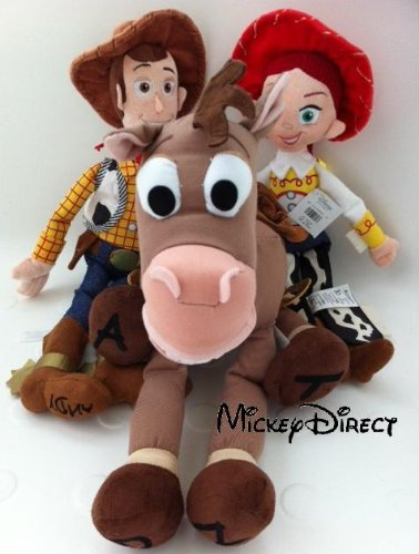 HUGE Disney Store Toy Story 3 Plush Jessie 16