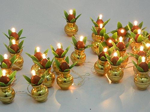 Tucasa DW-41 Golden Kalash String Light (Multicolor)