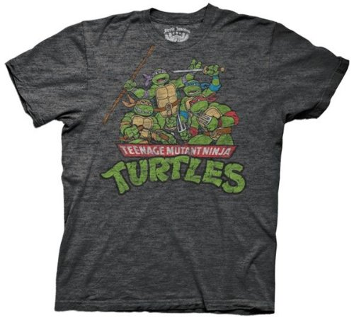Mens Teenage Mutant Ninja Turtles Group T-shirt