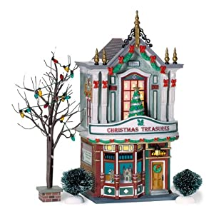 Dept 56 Christmas in the City **Christmas Treasures** (59240)