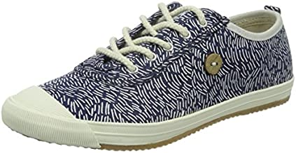Faguo Oak, Baskets mode mixte adulte - Bleu (Imprimé Mer), 45 EU (10.5 UK) (11 US)