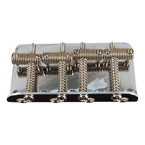 Fender 099-0804-100 Vintage Bass Bridge Assembly For American Vintage Jazz Bass And Precision Bass