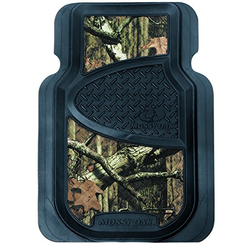 Mossy Oak Infinity Camo Floor Mats (Durable Molded PVC, Mossy Oak Infinity Camo, Front Seat Mat Set, Set of 2) (Ford F150 Carpet compare prices)