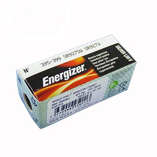 ENERGIZER Blister de 1 Pile Oxyde d'Argent pour montres 395/399 SR57