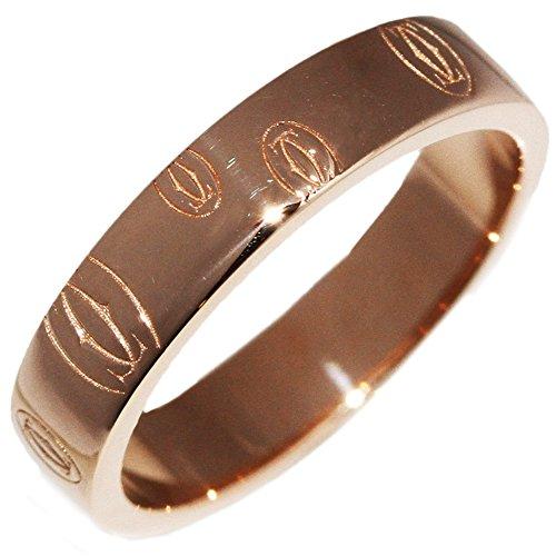[カルティエ]Cartier K18PG ハッピーバースデイ ウェディングリング(ロゴカルティエ) 指輪(リング)(B40511) #49(9号) [中古]