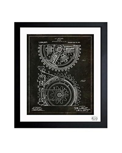 """Oliver Gal """"Gearing 1912"""" Framed Art"""