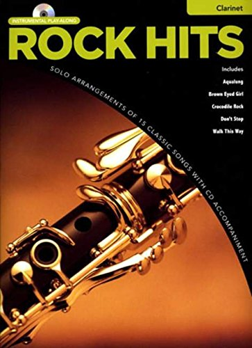 Rock Hits Instrumental Playalong: Clarinet