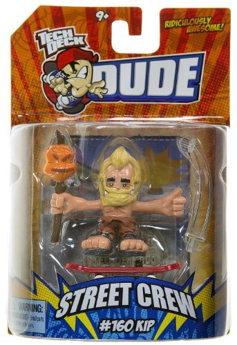 Tech Deck Dude Ridiculously Awesome Street Crew: #160 Kip
