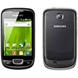 Samsung S5570 Galaxy Mini Unlocked 3G Android Touchscreen International Smartphone - Steel Grey