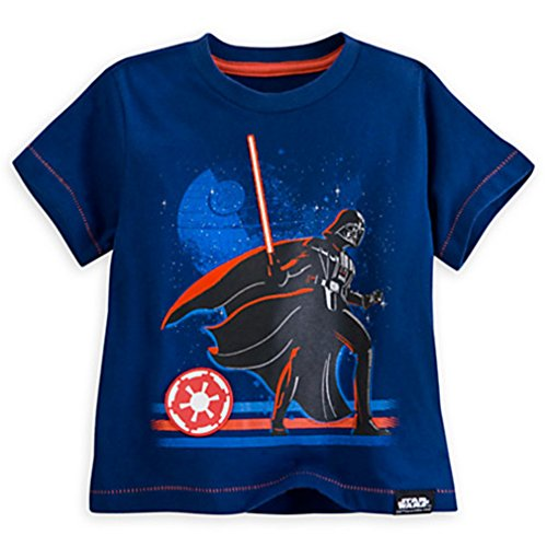 Disney Star Wars Darth Vader Tee for Kids, Deluxe Storytelling Size: 7/8 (1 Count)
