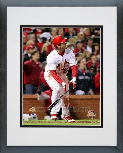 David Freese St. Louis Cardinals - MLB Framed and Matted Photo - 2011 World Series - Game Winning Walk-Off HR - Game 6 - 11x14 Photo at Amazon.com