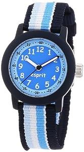 Esprit - ES106414012 - Montre Garçon - Quartz Analogique - Bracelet Nylon Bleu