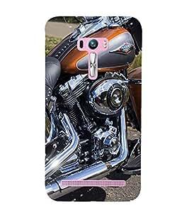 Stylish Bike Back Case Cover for Asus Zenfone Selfie::Asus Zenfone Selfie ZD551KL