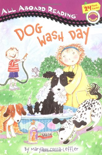 Dog Wash Day: All Aboard Picture Reader (All Aboard Reading)