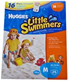Huggies Little Swimmers Medium 24-34lb ~ 25 Pack
