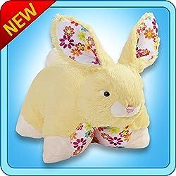 My Pillow Pets Bouncy Bunny Yellow Plush, 18/Large