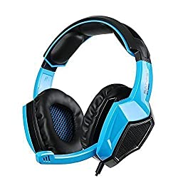 Sades SA920 Gaming Headset for PS4 Xbox360 PC iPhone Smart Phone Laptop iPad iPod Mobilephones Multi Function Pro Game Headphones with Mic