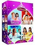 Coffret princesses : Il était une fois + Princesse malgré elle + Un mariage de princesse + Princess Protection program - coffret 4 DVD