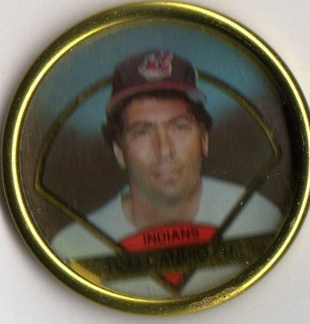 1990 Topps Baseball Bronze Coin #10 Tom Candiotti - 1