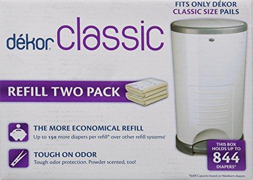 Dekor classic refill two count 744953000235 for Dekor mini refill