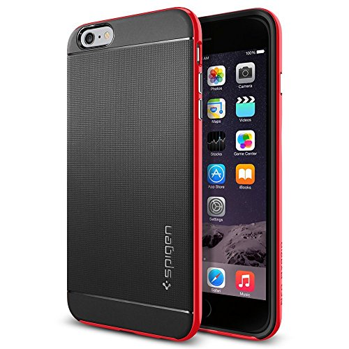 iPhone 6 Plus ケース, Spigen® [ 二重構造 スリム フィット ] ネオ・ハイブリッド Apple iPhone (5.5) アイフォン 6 プラス カバー (国内正規品) (ダンテ・レッド SGP11252)