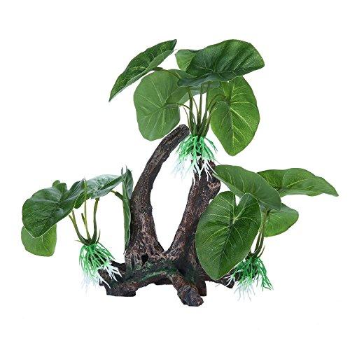 niceeshop tm plante artificielle en plastique d coration arbre pour aquarium. Black Bedroom Furniture Sets. Home Design Ideas