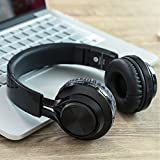 Picun-Bluetooth-Wireless-Headphones-BT-Series-Stereo-Foldable-Headset-with-Microphone-and-Volume-Control-for-PC-Tv-iPhone-Samsung-Sony-etc-black