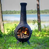 The-Blue-Rooster-Orchid-Chiminea-in-Charcoal