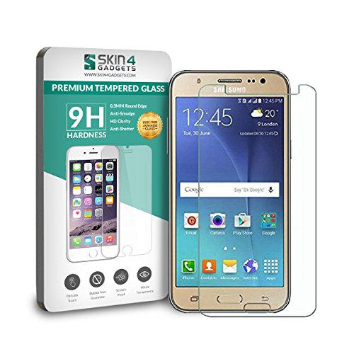 Samsung Galaxy J2 Tempered Glass Screen Guard Protector Ultra Strong (9H)-Slim by Skin4Gadgets with Gift Card of Rs.200.  available at amazon for Rs.175