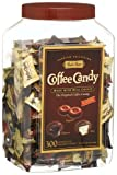 Balis Best Coffee Candy Assortment, Original, Espresso & Latte, 300-Count Jars (Pack of 4)
