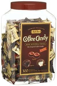 Bali's Best Coffee Candy Assortment, Original, Espresso & Latte, 300-Count Jars (Pack of 4)