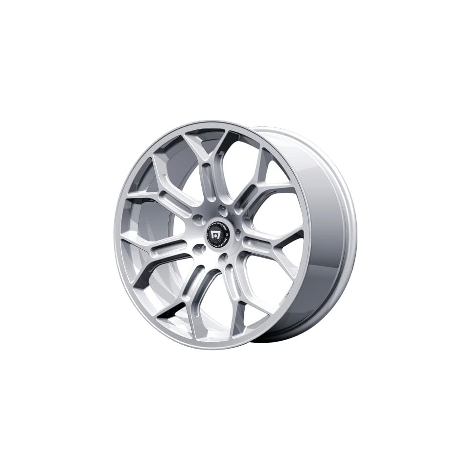 Motegi MR120 17x8.5 Silver Wheel / Rim 5x4.75 with a 56mm Offset and a 72.60 Hub Bore. Partnumber MR12078534456 Automotive