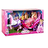 Exclusive Barbie The Princess and The Popstar Horse And Carriage by Mattel