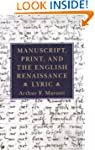 Manuscript, Print, and the English Re...