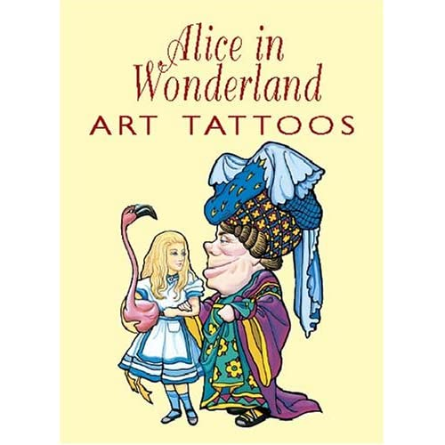 Alice in Wonderland Tattoos: Marty Noble: 9780486427546