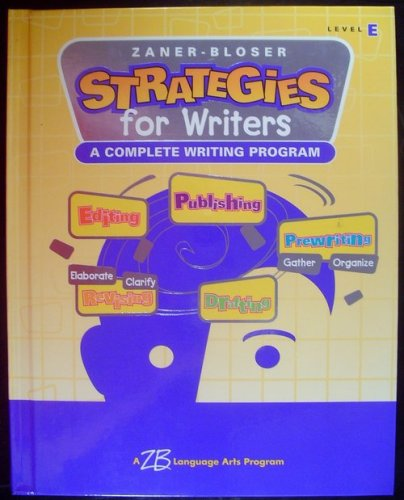 Strategies for Writers: Level E - Grade 5
