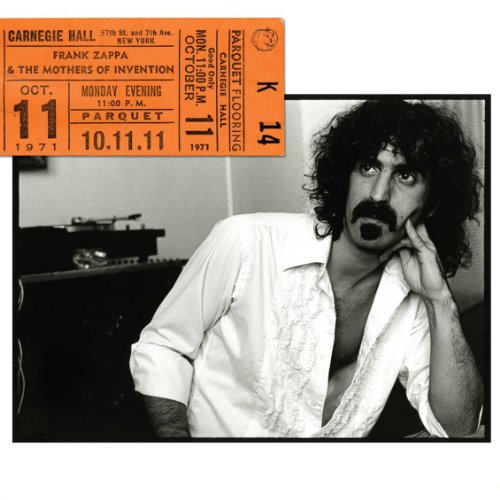 Frank Zappa & The Mothers of Invention – Carnegie Hall (2011) (4CD Box Set) [FLAC]