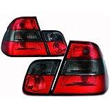 in.pro. 1214497 HD R�ckleuchten BMW 3-er E46 98-01, rot - schwarz