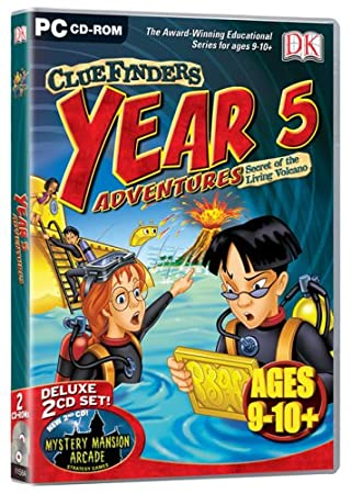 Cluefinders Year 5 Adventures (Ages 9-10)