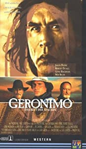 Geronimo An American Legend Vhs Jason Patric Gene