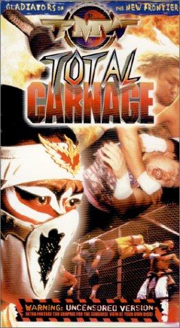 FMW (Frontier Martial Arts Wrestling) - Total Carnage (Uncensored Version) [VHS]