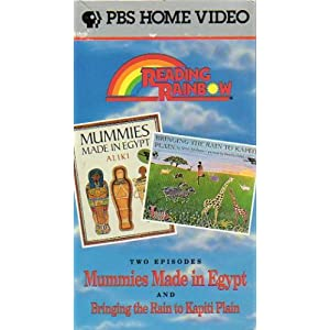 Reading Rainbow: Mummies Made in Egypt/Bringing the Rain to Kapiti Plain [VHS]